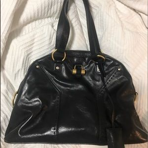 YSL Black Muse Bag